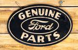 HTF Ford Genuine Parts Single Sided Soybean Sign TAC 8.5