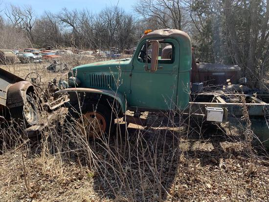 Early 40 GMC Military Truck Deuce and a half