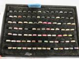 TRAY OF ASSORTED MOOD RINGS