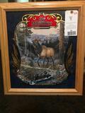 Beautiful OLD MILWAUKIE BEER, Wildlife Series, framed Limited edition print =