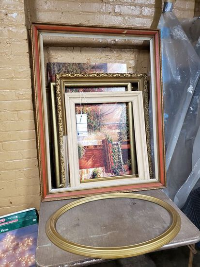 LOT OF FRAMES AND ART