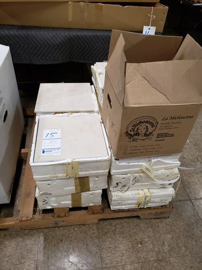 """LOT OF MARBLE TILES 12"""" SQAURE"""