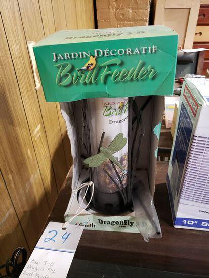 NEW 3-D DRAGON FLY BIRD FEEDER