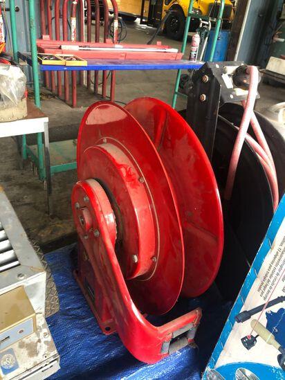 Red hose reel