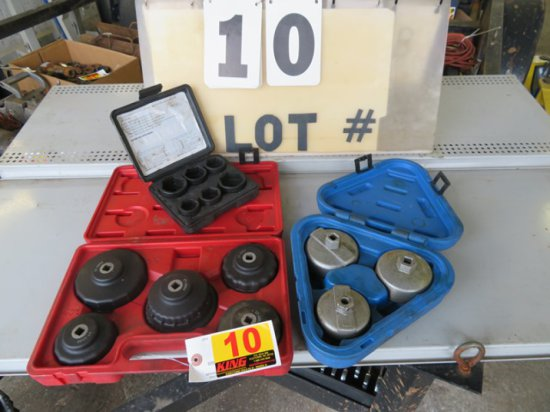 Lot of Oil Filter Wrenches