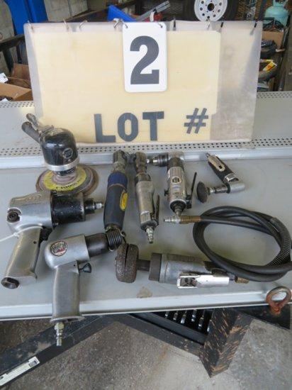 Lot of (8) Misc. Air Tools