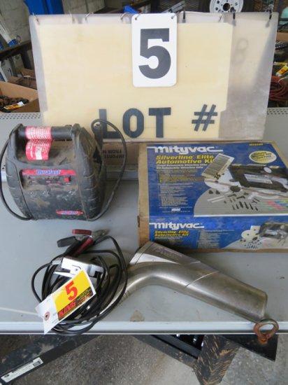 Duralast Jump Box, Timing Light, Automotive Kit