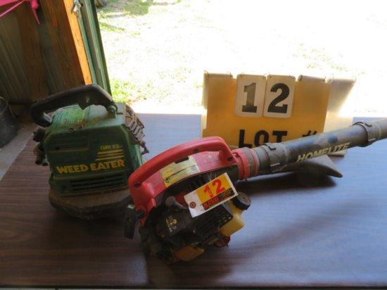 Weed Eater GB122 & Homelite HB-100 Leaf Blower