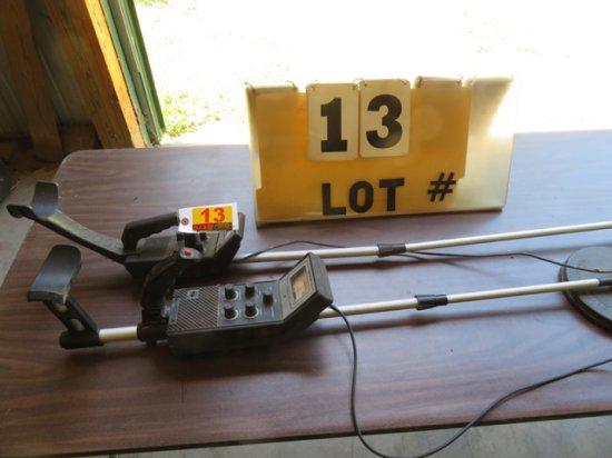 (2) Metal Detectors (1 is Radio Shack brand)