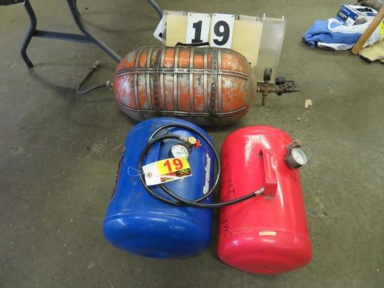(3) Portable Air Tanks