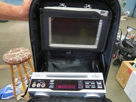 DVD Disk Player w/Screen for Seat of Car