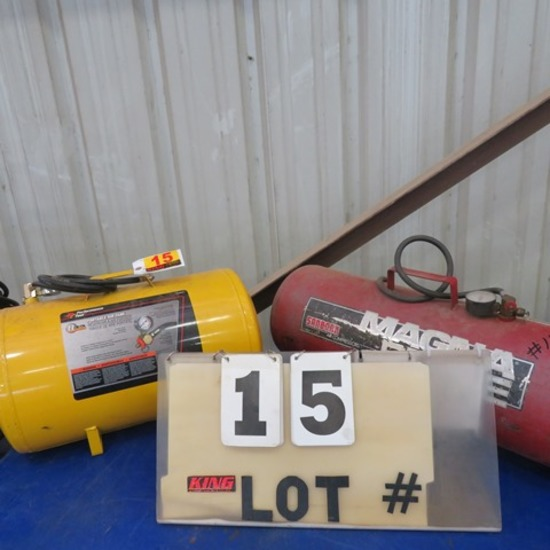 (2) Portable Air Tanks - Performance Tool &