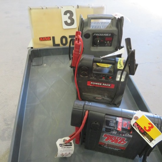 (3) Jump Boxes