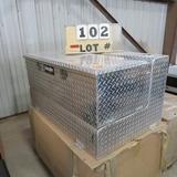 DeeZee Aluminum Combo Liq/Transfer Tank/Chest