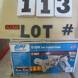 GPI 15 GPM Fuel Transfer Tank, 12-Volt