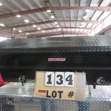 Weather Guard Black Aluminum Saddle Tool Box
