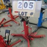 Sunex 1,000# Cap. 2-Stage Transmission Jack