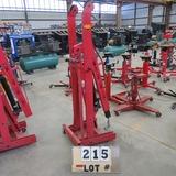 ATD 2-Ton to 1/2-Ton Foldable Engine Crane