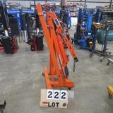 Central Hydraulics 2-Ton - 1/2-Ton Engine Hoist