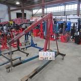 Red Arrow Mdl #1200A Heavy Duty Engine Hoist
