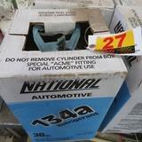 National Automotive 134a Refrigerant, 30# Tank