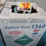 DuPont Suva 134a Refrigerant, 30# Tank