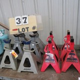 (10) 6-Ton Jack Stands