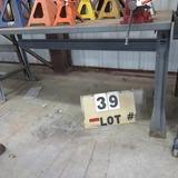 Metal Work Table w/Wilton 6