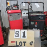 (3) Battery Chargers/Starters - Snap-On Fast 420