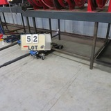 Steel Work Table w/6 1/2
