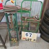 (3) Cutting Torch Carts