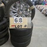 (4) Bridgestone New Take-Offs Tires w/Chevrolet 6-