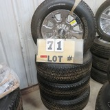 (4) Michelin New Take-Off Tires w/Ford 8-Lug