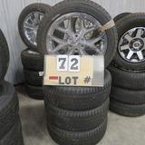 (4) Bridgestone New Take-Off Tires w/6-Lug