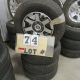 (4) Dunlop New Take-Off Tires w/6-Lug Toyota
