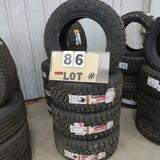 (4) Nitto Ridge Grappler New Sticker Tires