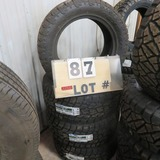 (4) Toyota Open Country New Sticker Tires