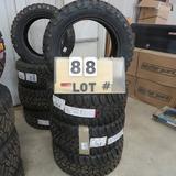 (4) General Grabber X3 New Sticker Tires