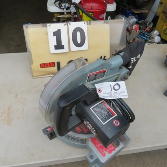 "Delta 10"" Power Miter Saw"