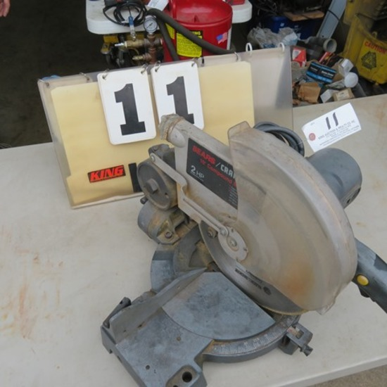 "Craftsman 10"" Compound Miter Saw"