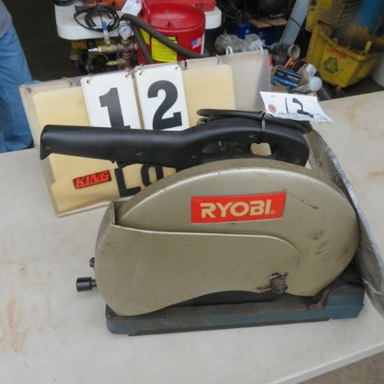 """Ryobi 14"""" Cut-Off Saw"""