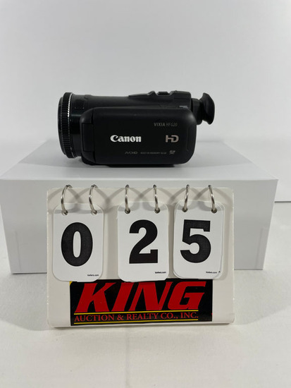 Canon Vixia HF G20 HD Video Camera