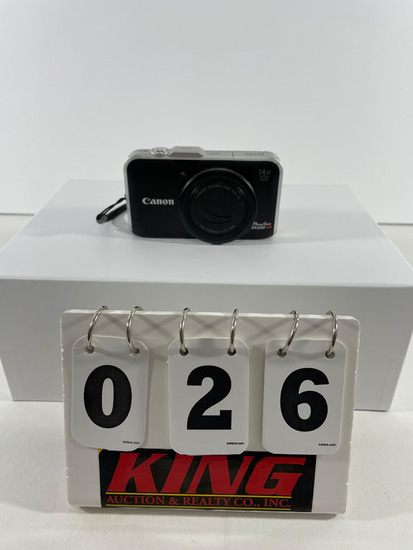 Canon Power Shot x20 15 Digital Camera