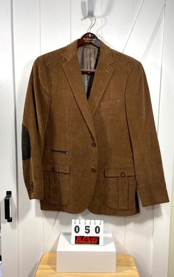 Patrick James Brown Corduroy Men's Sportcoat