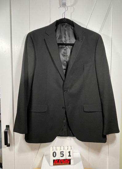 Geoffrey Beene Men's Black Sportcoat, Size Med