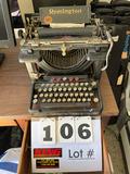 Vintage Remington Standard Typewriter