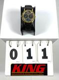 Gruen Quartz Watch w/2 Time Zones