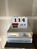 (1) MS Cash Drawer & (1) Clover Cash Drawer