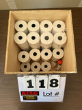 Box of (34) Thermal Paper Rolls