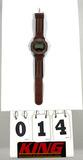 Men's Acqua Indiglo Watch, Water Resistant